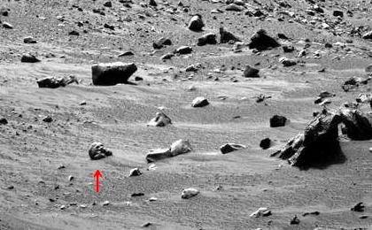 火星表面の写真